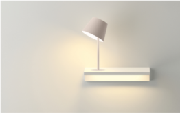 Suite wall lights Vibia 6045