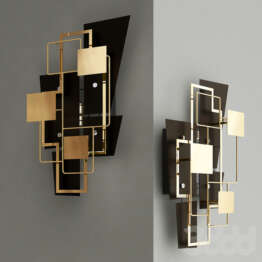 DSW editions- wall  lamp-  Map 2