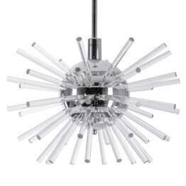 Bakalowits Miracle Sputnik Chandelier with Crystal Glass Rods